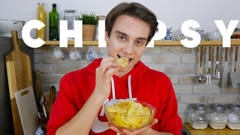 Domáce chipsy za 5 min z mikrovlnky. Už nikdy nebudete robiť chipsy inak | Viktor Nagy | recepty