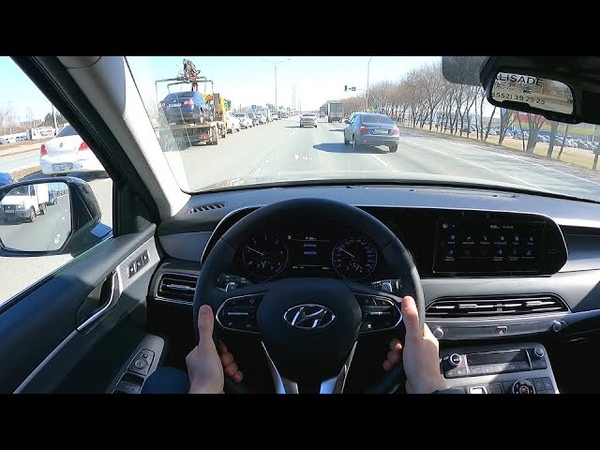 2021 Hyundai Palisade 2 2 CRDI High Tech POV TEST DRIVE