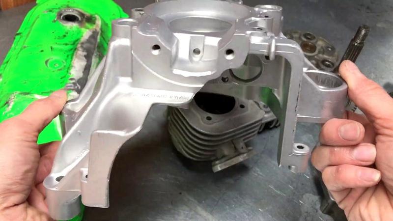 Восстановление УБИТОГО мотора Minarelli 3AA 4SB Yamaha BWS КРИВОЙ ПОРТИНГ Очистка АКВА БЛАСТИНГОМ