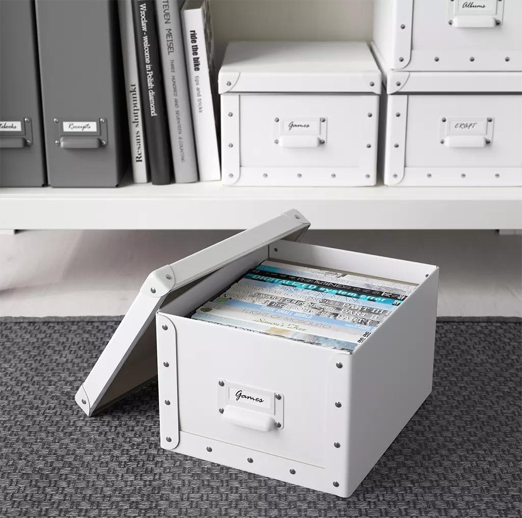 использование коробок в интерьере дизайн компании Авантстрой