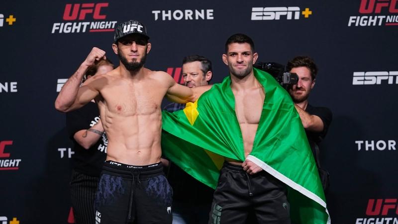 UFC Вегас 31 Битвы взглядов
