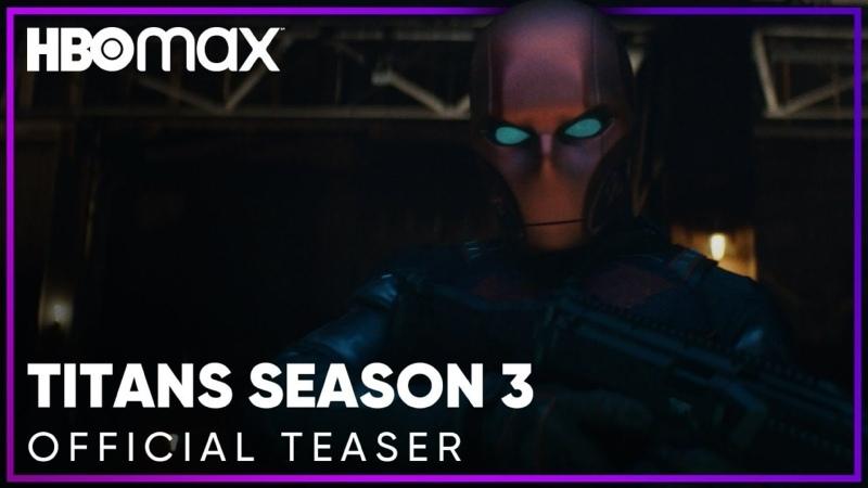 Титаны озвученный тизер третьего сезона Титанов