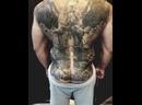 Масштабная татуировка на всю спину