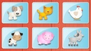 СБОРНИК Учим животных 🙉 Как говорят животные Мультик Звуки животных для самых маленьких
