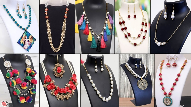30 Creative Handmade Necklace Ideas Jewelry Making at Home