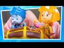 Фиксики ИГРАЮТ в игрушки ✌️🕵️ Ищем клад с фиксиками 💰💎👑 Помогатор
