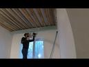 Как сделать нишу из гипсокартона под шторы. Усиление под натяжной потолок