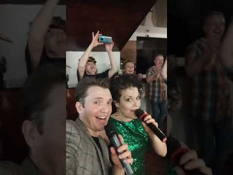 Helga Weaver Дмитрий Матушкин и Виталий Аверьянов на народном корпоративе Бомонда Танцуют все 2
