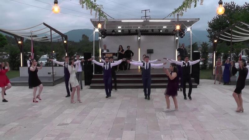 Çökertme Zeybeği-Düzce Cumhuriyet Anadolu Lisesi mezuniyet töreni