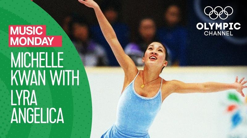 Michelle Kwan Figure Skating to Lyra Angelica at Nagano 1998 Music Monday