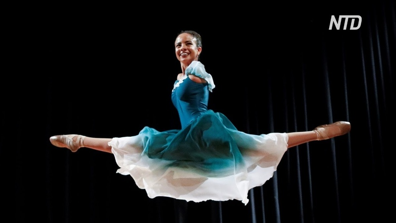Бразильская балерина без рук покоряет зрителей