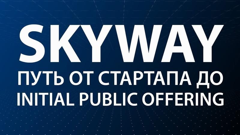 SkyWay   Путь от стартапа до IPO Initial Public Offering