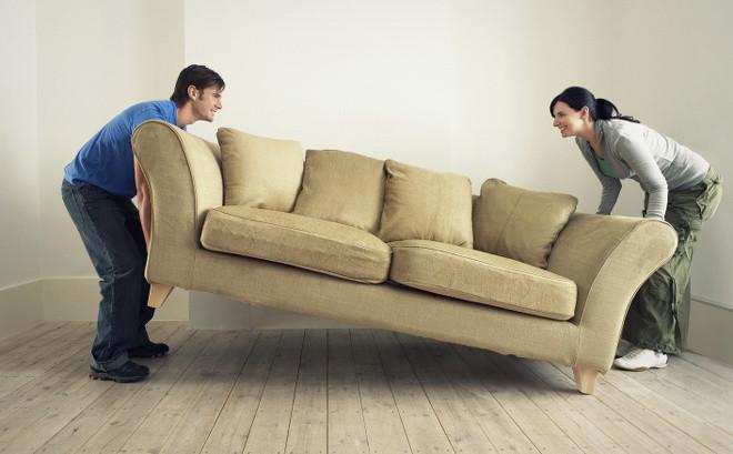 Перестановка мебели