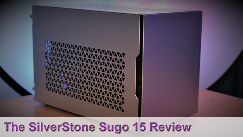 SilverStone Sugo 15 SG15 ITX Case Review Tested w Big Air Coolers vs SG14 Using a 240mm AIO