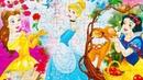 Бель, Золушка и Белоснежка. Принцессы Disney - Собираем пазлы для малышей Funny Liza