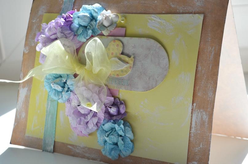 Лушина Валерия, 13 лет (скрапбукинг, цветы ручной работы)
