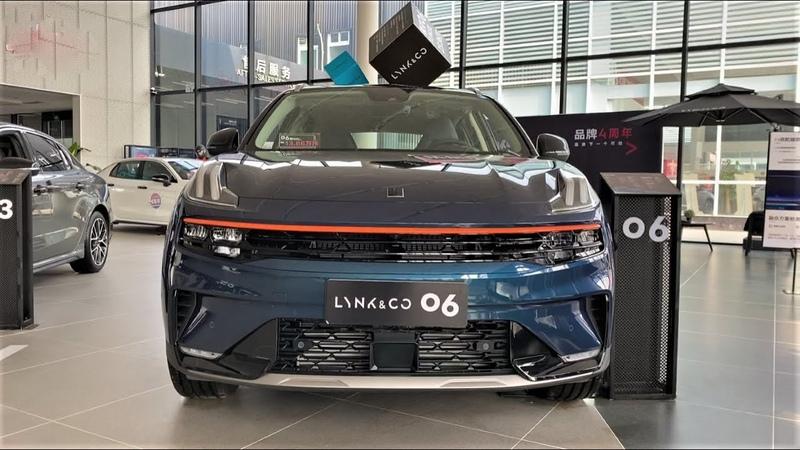 2021 Geely Lynk Co 06 Walkaround China Auto Show 2021款吉利领克06,外观与内饰实拍