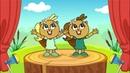 Танцевальная детская песня Бобры добры - Mini Disco детский развивающий мультик песенка 0