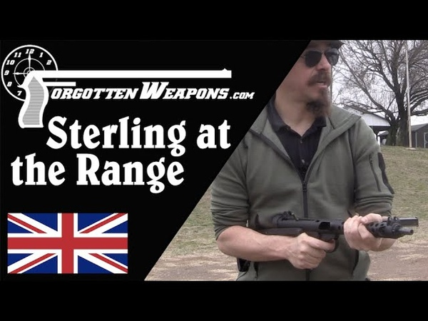 Sterling SMG at the Range