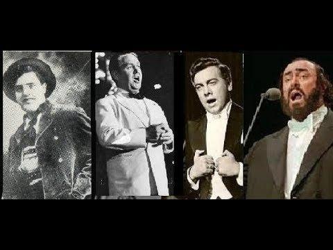 La fleur que tu mavais jetee -Carmen (Bizet) McCormack, Bjorling , Lanza, Pavarotti.