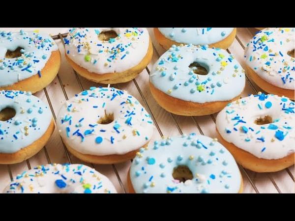 ПРОЩЕ ПРОСТОГО ПОНЧИКИ 🍩 с гразурью Простой рецепт пончиков как приготовить пончики