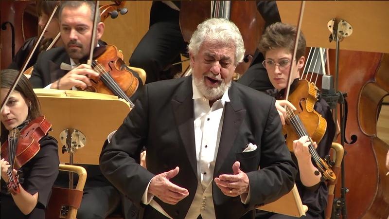 Concierto de Plácido Domingo en homenaje a Miguel Fleta en Zaragoza 2018 en Auditorio de Zaragoza